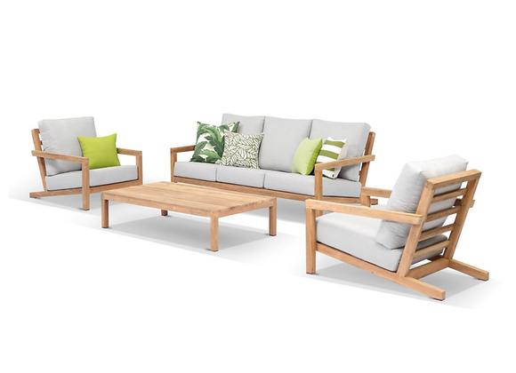 Cambridge 4pc lounge setting - seats 5