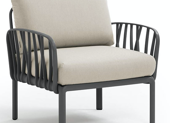 Komodo Armchair - sealed fabrics