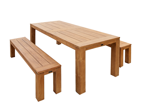 Lisbon 3pc bench setting