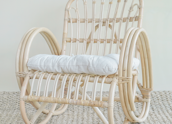 Victoria natural cane relax chair