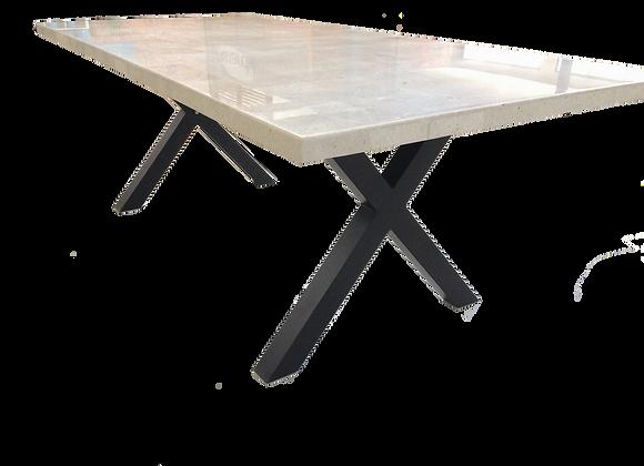 Alanya travertine table range