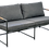 Thumbnail: Jasper 4pc lounge - charcoal