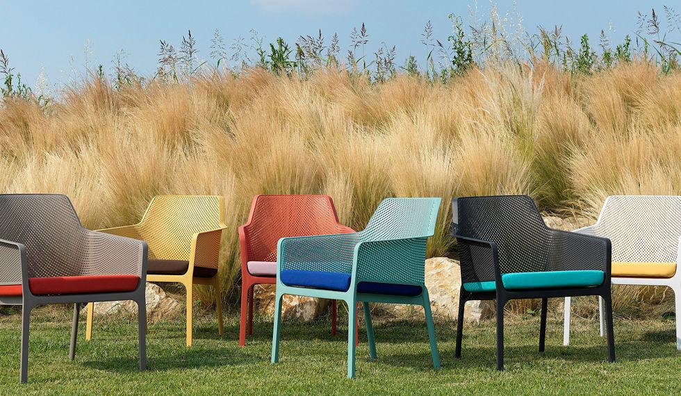 Italian resin & outdoor cushions