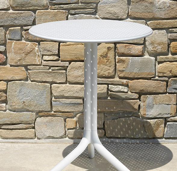 Italian made resin adjustable height table