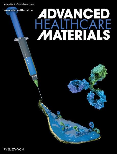 cover art Advanced Healthcare Materials