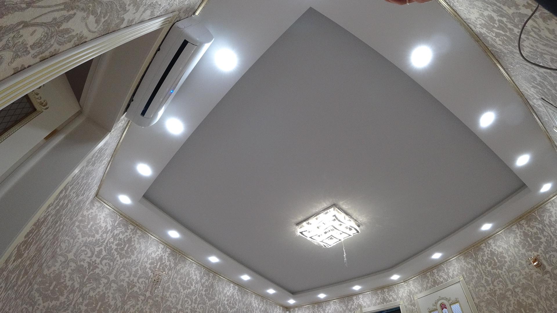 натяжные потолки сочи, тканевый пото