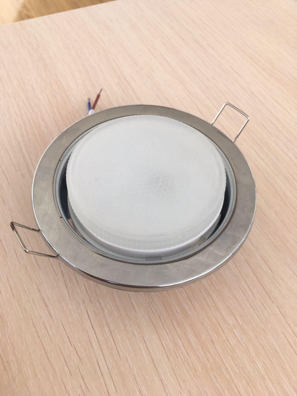 Светильник GX 53 хром