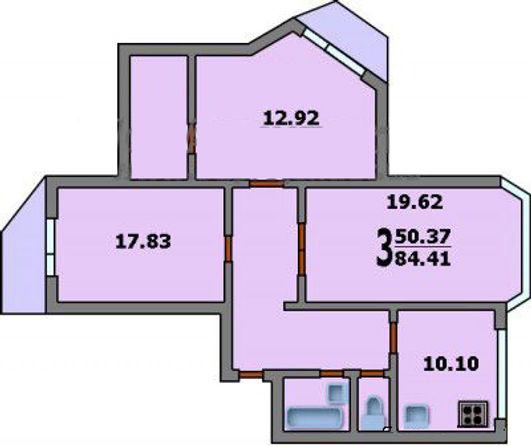Расположение помещений 2