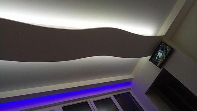 Натяжные потолки от компании Радуга! Материал белый матовый премиум класса