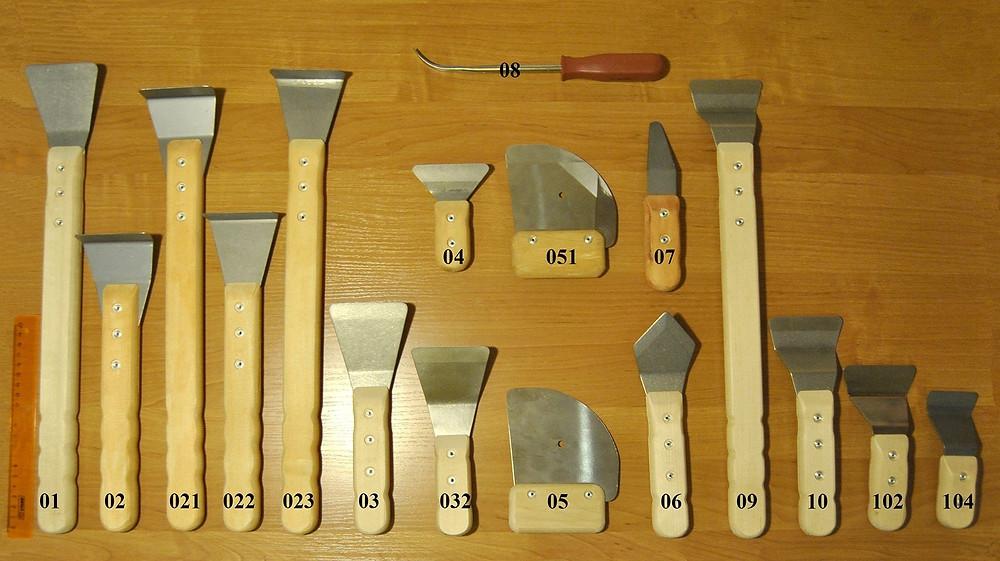 Лопатки для монтажа