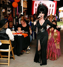 Halloween Entertainment/ Elvira Impersonator