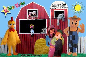 Kiddle Karoo Barnyard Puppet Show