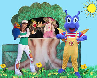 Kiddle Karoo Earth Day Puppet Show