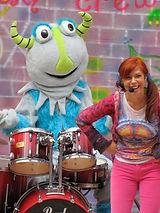 Kids Rock Band. Kindie Rock artist Kiddle Karoo.