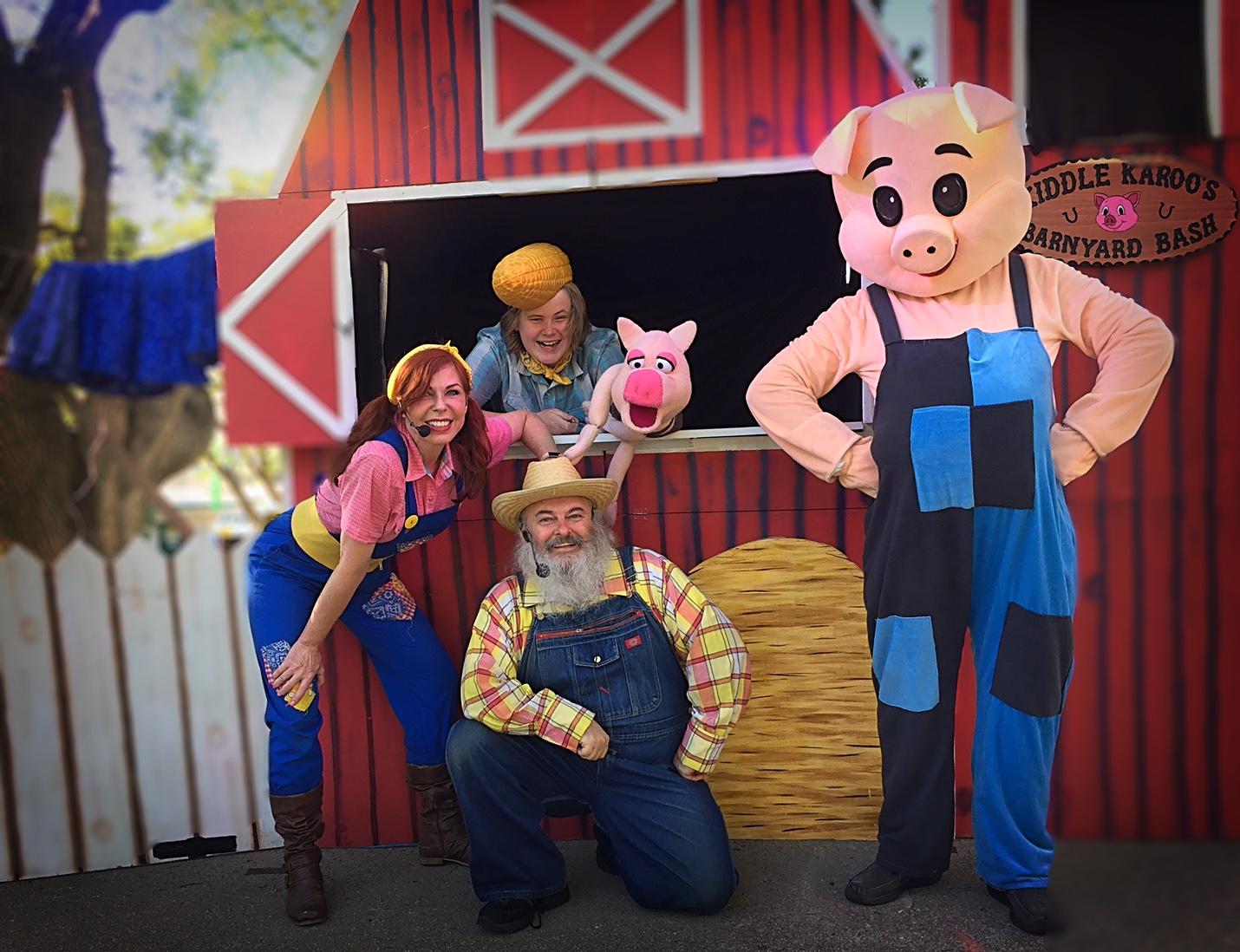 Barnyard Puppet Show