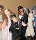 Madona, Michael Jackson and Thriller Zombies Impersonators