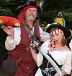 Pirate and bird Show.