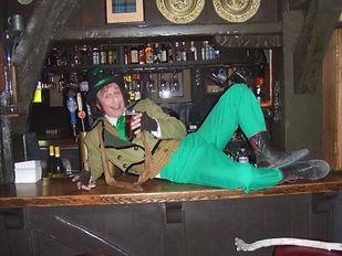 Leprechaun entertainer