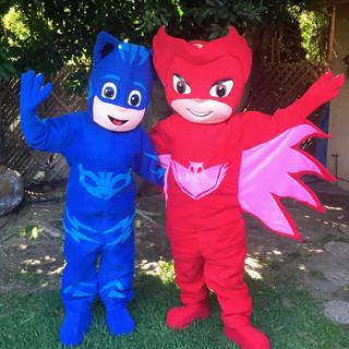Owlette & Cat Boy