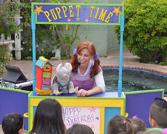 Toddler Puppet Show