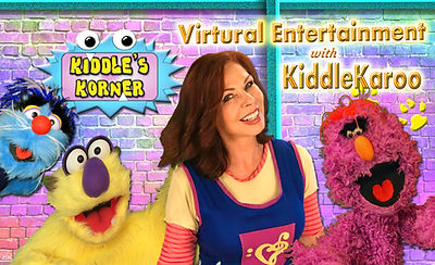 Virtual Monster Puppet Show with Kiddle Karoo