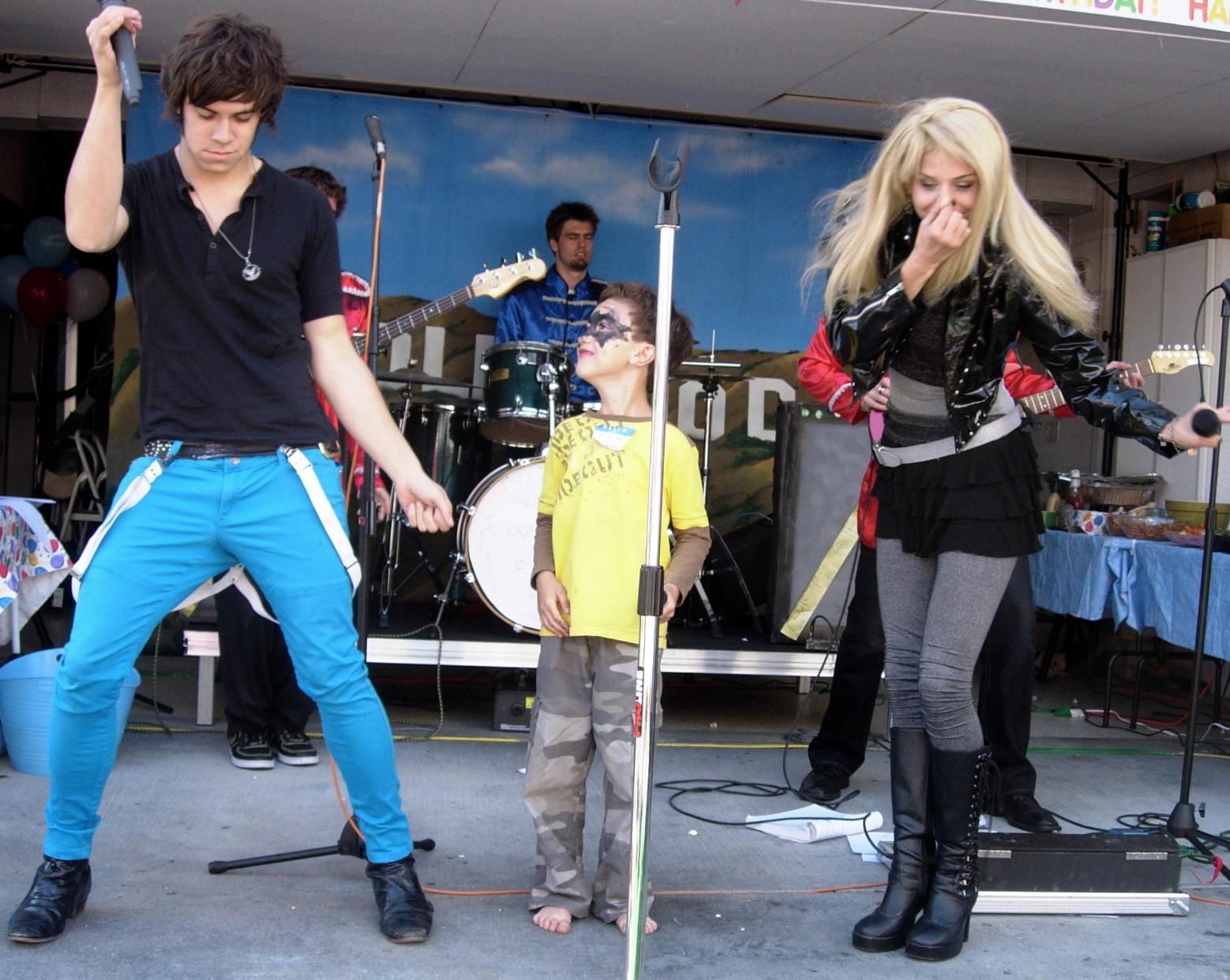 Kids Rock Star Parties