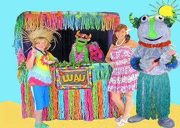 Kiddle Karoo Luau Puppet Show
