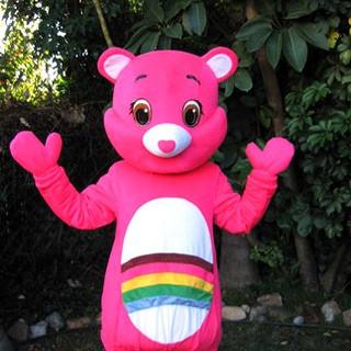 Pink Rainbow Carebear