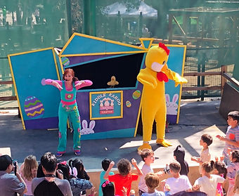 Kiddle Karoo Easter Puppet Show