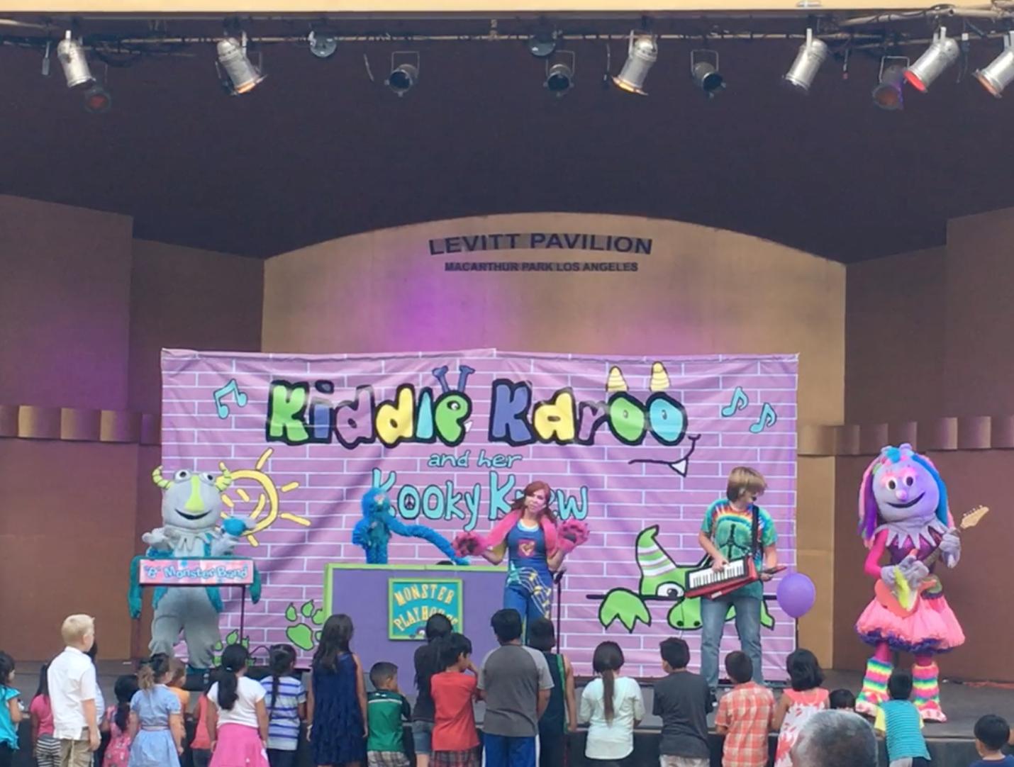 Kiddle Karoo Monster Kindierock conc