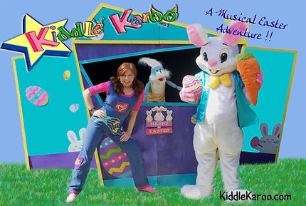 Easter Puppet Stage
