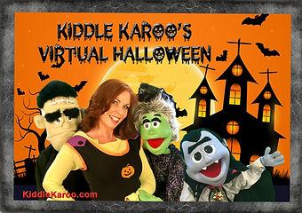 Virtual Halloween Puppet Show