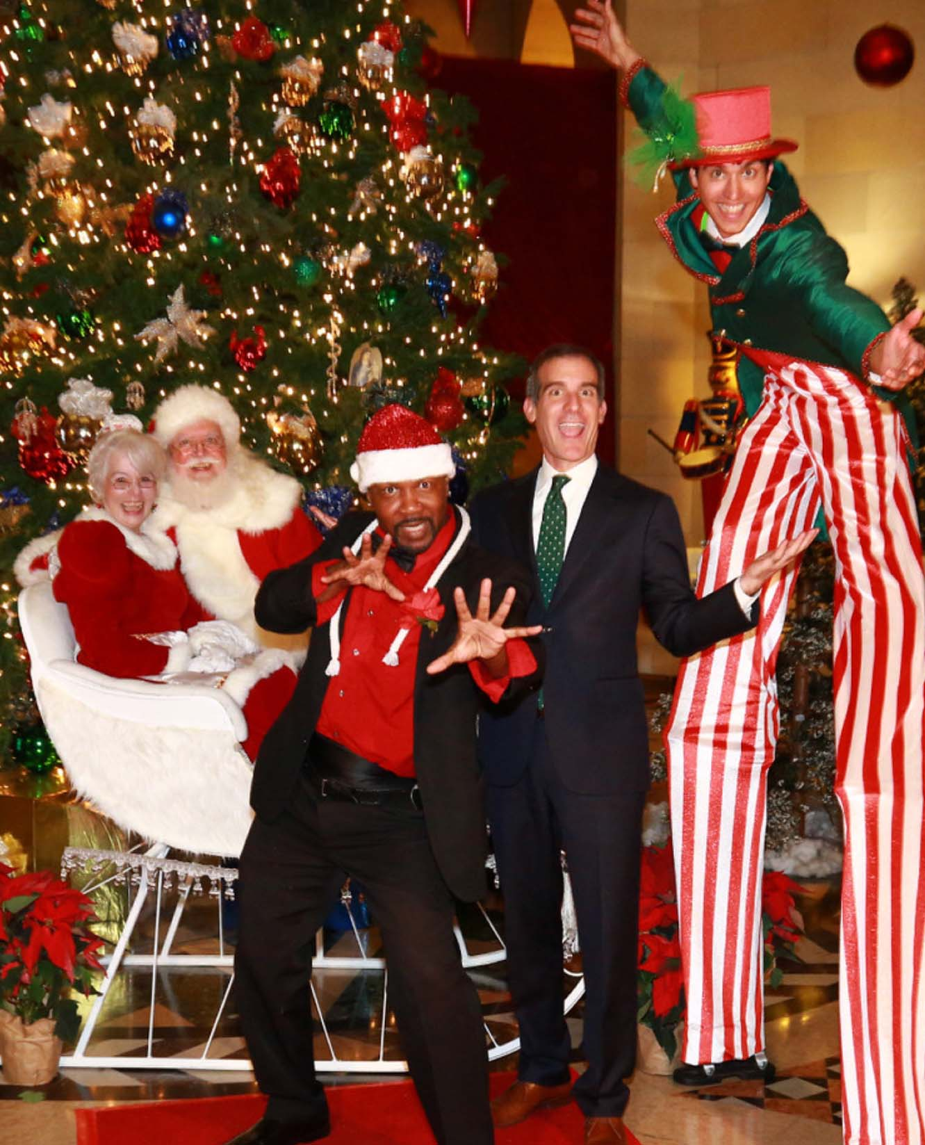 Mayor Garcetti Holiday Party