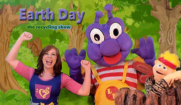 Virtual Earth Day Puppet Show