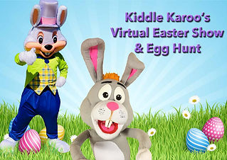 Virtual Easter Puppet Show