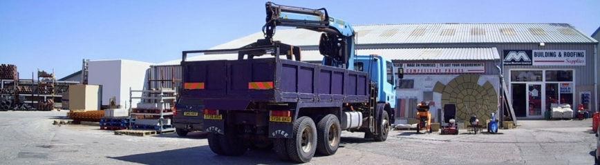 Main Yard - Angus Maciver Ltd - Bulk Bag Supplies
