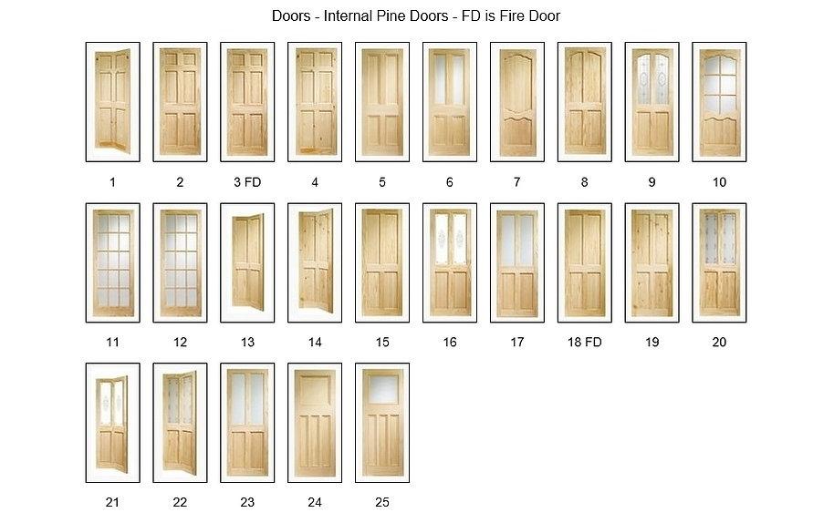 Pine Doors Internal - Angus Maciver Building Supplies