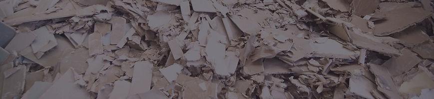 Waste Plasterboard Recycling Skip Hire - Angus Maciver Skip Hire, Isle of Lewis