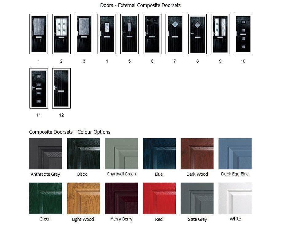 Composite Doors External - Angus Maciver Building Supplies