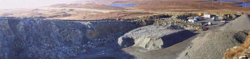 Quarry Facility Isle of Lewis - Angus Maciver Ltd - Bulk Bag Supplies