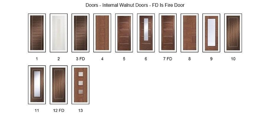 Walnut Doors Internal - Angus Maciver Building Supplies
