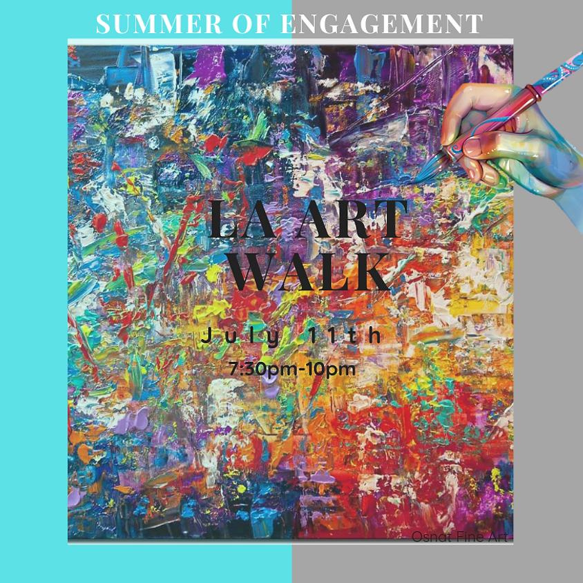 Summer of Engagement: LA Art Walk