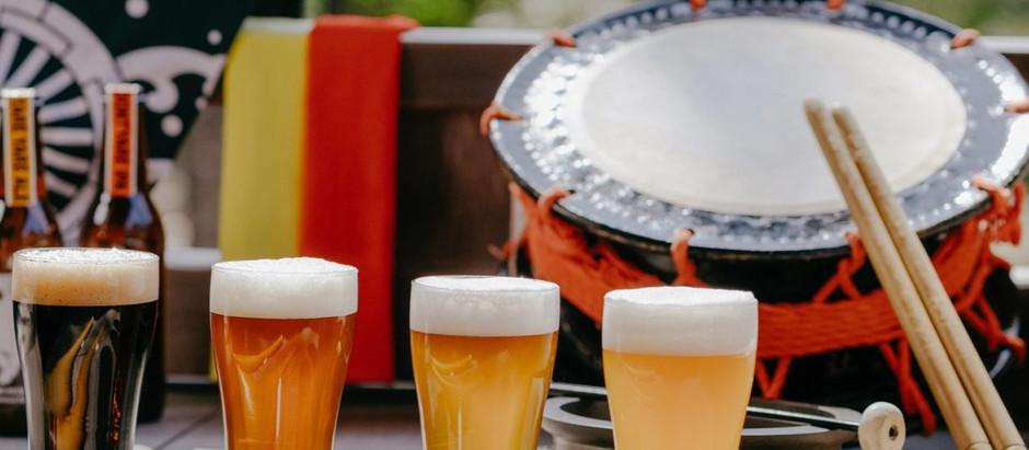 生まれも育った国も異なる祭好きの3人が生んだクラフトビール