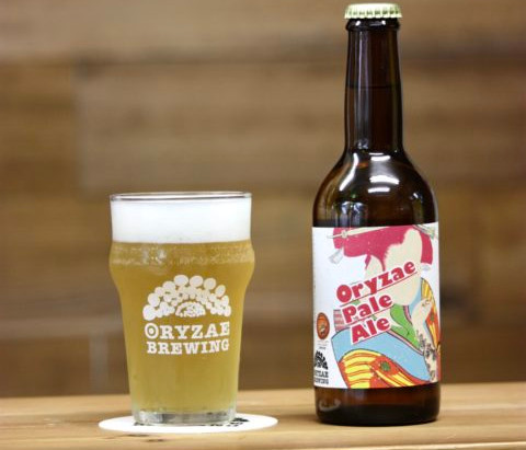 世界初!麹で醸すビール/ORYZAE BREWING