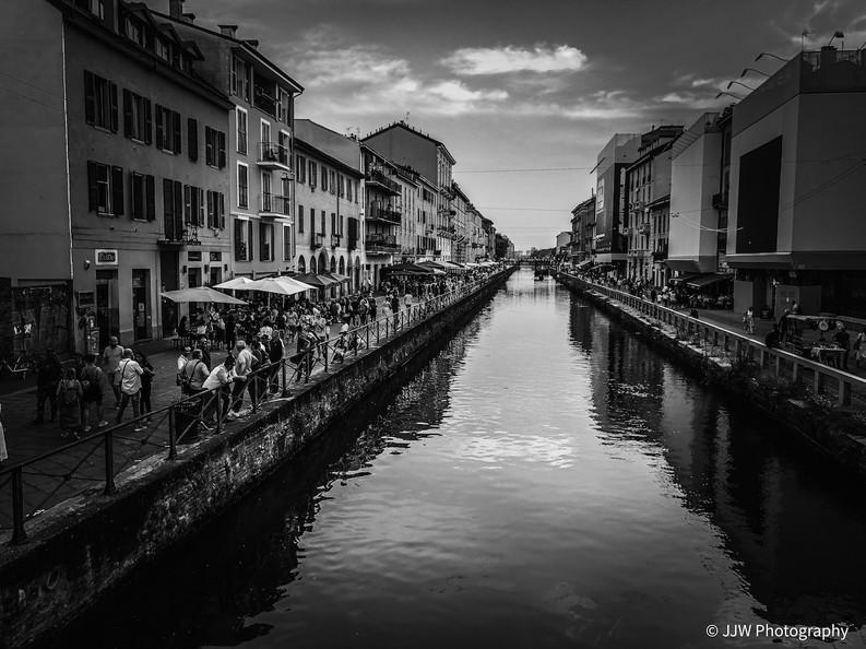 Milan harbour