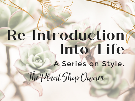 Re-Introduction into Life - A Series on Style
