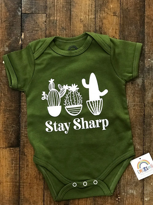 Stay Sharp Onsie