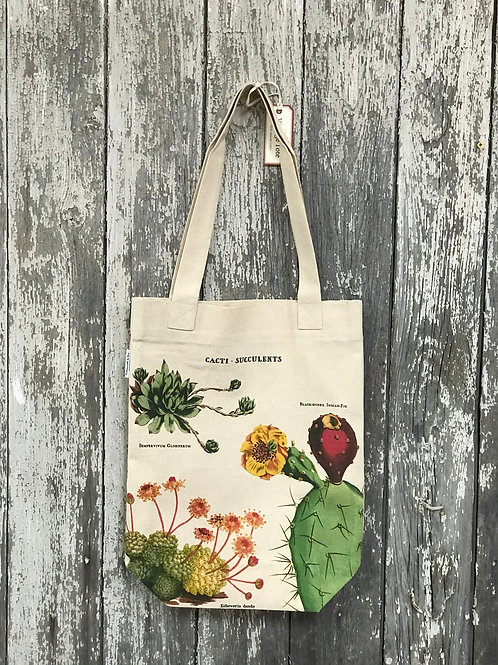 Cacti and Succulent Market Tote