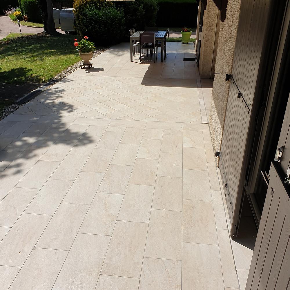 Rénovation & protection d'une terrasse de maison