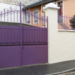 Rénovation d'un portail en Bourgogne